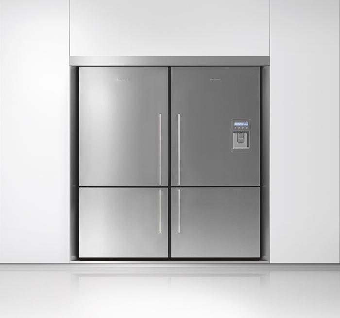 רק החוצה מילטון - חוויה במטבח. מקרר כפול Fisher & Paykel E522BRFD KS-68