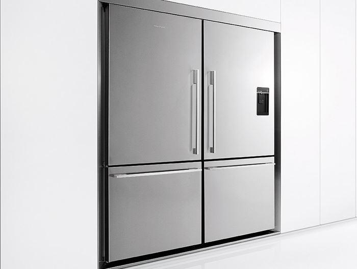 מפואר מילטון - חוויה במטבח. מקרר Fisher & Paykel E522BRFD TS-74