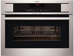 תמונה של תנור בנוי משולב מיקרוגל AEG דגם: KM8403101M