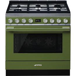 """תנור משולב כיריים 90 ס""""מ SMEG CPF9GMOG"""